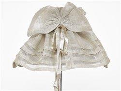 Housse d'abat-jour en lin naturel et plis - Simla
