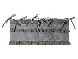 Cantonnière vichy gris - Lamba