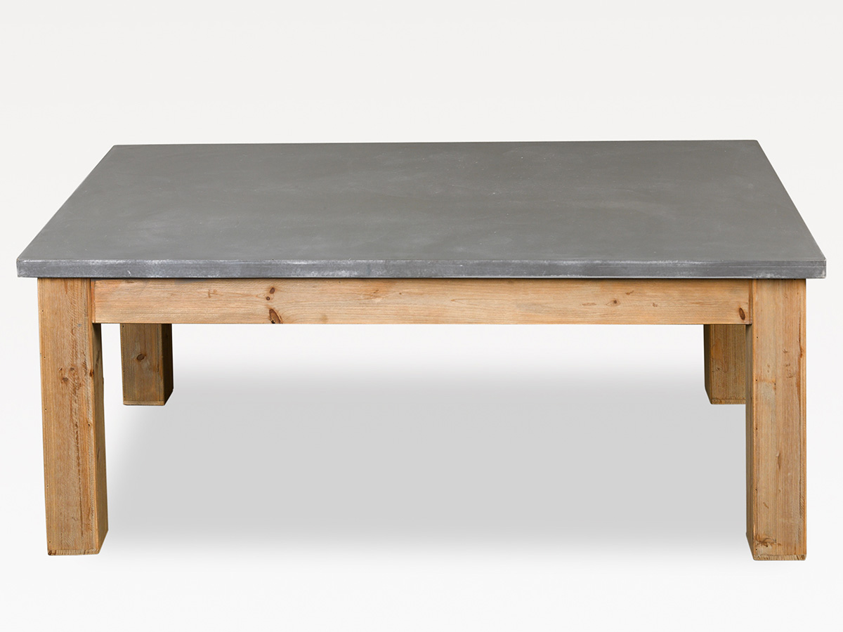 Table basse en bois gris - Table basse bois gris ...