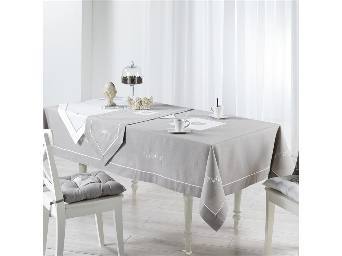 Nappe grise - Nappe rectangulaire grise ...