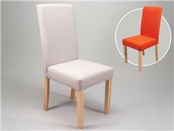 Sets de 4 chaises en bois et tissu - Simla