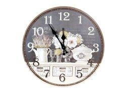 Horloge ronde - plat du jour - Simla