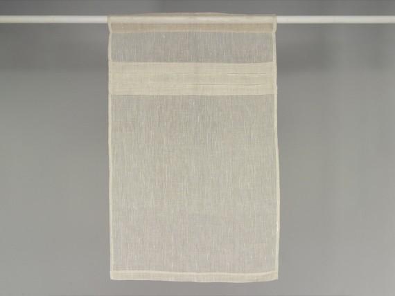 rideau brise bise voilage 100 lin et plis plats simla. Black Bedroom Furniture Sets. Home Design Ideas