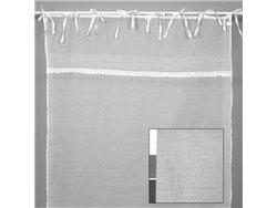 Rideau voilage blanc 140 x 280 cm - Simla