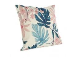 Housse de coussin à fleurs bleues et roses set de 3 - Simla