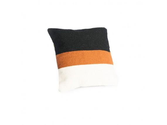 Housse ce coussin laine tricolore - Simla