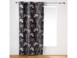 Rideau Cocoty gris 140 x 240 cm - L3C