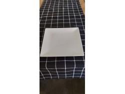 Chemin de table noir quadrillé - Simla