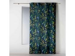 Rideau à oeillets 140 x260 cm Ficusia bleu - L3C