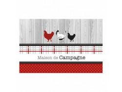 Set de table Maison de Campagne - Auberge