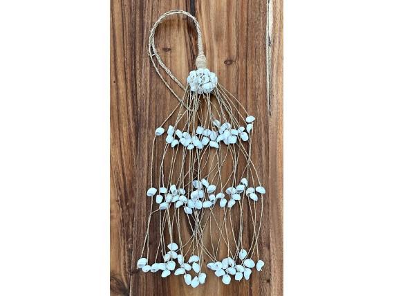 Suspension décorative coquillages blancs - Les Nomades