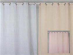 Rideau occultant en lin lavé 130 x 265 cm - Simla